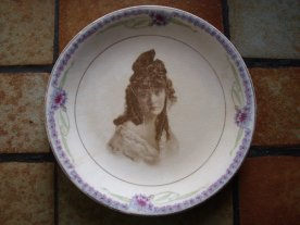 Mae W Marsh plate